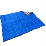 屋外旅行ピクニック空の綿の寝袋