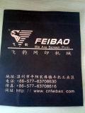 Печатная машина экрана тавра Wenzhou Feibao для крена для того чтобы свернуть логос печати
