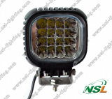 48W carré DEL Work Light (NSL-4816B-48W)