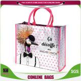 La fabbrica personalizza i sacchetti di acquisto riutilizzabili con il marchio (KLY-PP-0259)