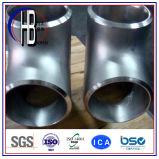 304/316 T-stuk van het Reductiemiddel van de Montage van de Pijp van het Roestvrij staal