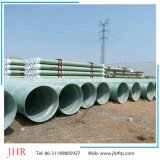 Linha da tubulação do subministro de petróleo de Gre da tubulação de gás de GRP
