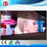Pantalla de visualización de interior de LED de PUNTO P5 de la televisión a todo color de la matriz