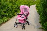 Rosafarbener Baby-Spaziergänger 6011, Spaziergänger, Kinderwagen, Buggy