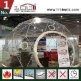 작은 이글루 천막 투명한 PVC 지붕을%s 가진 소형 돔 구조