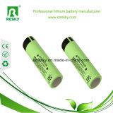 18650 bateria de lítio de 3.7V 3400mAh para a lanterna elétrica, E-CIGS, ferramentas de potência