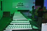 12X10W RGBW 4 em 1 luz clara da barra da tira do forro da inundação da arruela da parede do diodo emissor de luz do estágio