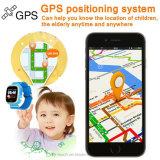 Реальный вахта малышей индикации цвета отслежывателя GPS WiFi Lbs с двусторонней связью (D15)