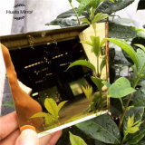 изготовление Китая зеркала высокого качества 6mm золотистым покрашенное зеркалом