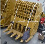 幼虫Cat320dのためのSfの掘削機の骨組バケツ