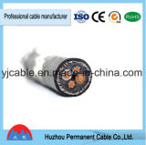 0.6/1kv câble blindé isolé par PVC de cuivre du conducteur BT