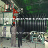 Machine 2200mm d'extrusion de pipe de mur de structure de HDPE