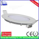 AC85-265V ultra dünne 15W runde LED Panel-Lampe/Licht