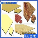 Панель деревянной мраморный поверхности гранита алюминиевая составная с ценой по прейскуранту завода-изготовителя