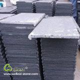 De in het groot Het hoofd biedende Tegels van de Pool van het Graniet van de Sesam van de Oppervlakte van de Fabriek Vervaardiging Gevlamde G654 Zwarte