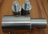 Piezas que trabajan a máquina dadas vuelta precisión de acero roscadas del CNC de la pieza inserta del buje