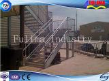 Scala d'acciaio galvanizzata tuffata calda della scaletta della struttura d'acciaio (FLM-SP-001)