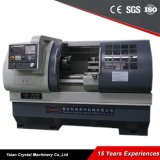 Цена поворачивая машины Lathe металла плоской кровати CNC Ck6140A Китая Torno