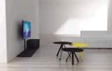 Uispair 100% moderner Haupthotel-Büro-Wohnzimmer-Schlafzimmer-Esszimmer-Stahlkaffeetisch