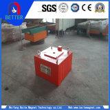 Série de Rcda queRefrigera o separador magnético elétrico do ferro de Susoension/máquina magnética/separador mineral com equipamento de levantamento para a venda