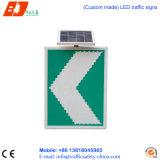 Signes de route extérieurs de DEL de pouvoir de circulation de Signage solaire de flèche
