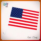 Bandeira customizada do carro dos EUA da impressão digital do futebol (HYHF-AF027)