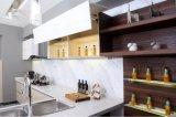 Moderne weiße Küche-Möbel des Lack-2017 (zx-058)