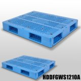 HDPE van de Zware Lading van de Oppervlakte van het netwerk Dubbele Zij Omkeerbare Plastic Pallet