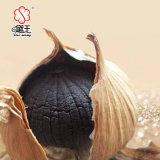 Único alho orgânico chinês 900g do preto do bulbo