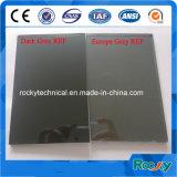 vidro reflexivo cinzento escuro de 4mm