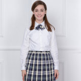 OEM Uniform Design Design Cheap Wholesale White Summer School Uniform