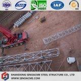 Стальная тяжелая структура ферменной конструкции для поддержки бака химического завода