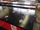Машина CNC отверстия металлического листа 8 инструментов пробивая с подавая платформой