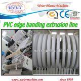 Ligne d'extrusion de bordure foncée de PVC