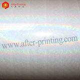Ясность/серебр/цветастая голографическая полиэтиленовая пленка