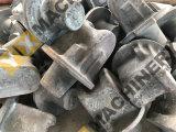 カスタマイズされた精密熱い低下は機械で造られた鋼鉄部分の鍛造材を停止する