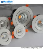 Material de alumínio Dimmable LED Down Lamp / LED Downlight / Teto LED Down Light