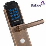 고대 구리 전자 디지털 열쇠가 없는 장붓 구멍 터치패드 호텔 자물쇠