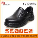Ботинки ботинок безопасности шеф-повара кожи действия коровы управленческие