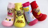 2017 los calcetines más nuevos del bebé de la historieta/del algodón de los niños 3D