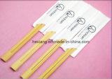 Fabricante de palillos de bambú disponibles del vajilla