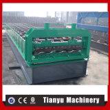 Rodillo completamente automático del panel del coche de metal de Tianyu que forma la máquina