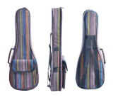Telas étnicas mini Guitarbag del bordado del Ukulele