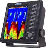 二重Frequencyの10インチTFT LCD Fishing Finder