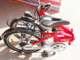 [متث] بالغ رياضة [36ف] [250و] يطوي درّاجة كهربائيّة مع يخفى بطارية