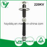 Limitatore di tensione ad alta tensione esterno dell'alloggiamento della porcellana della sottostazione 220kv