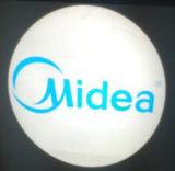 未来の技術図形ライトLEDロゴプロジェクター屋外の壁広告