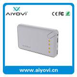 Батареи Li-иона заряжателя 18650 большой емкости заряжатель 10000mAh USB непредвиденный портативный