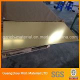 лист зеркала цвета толщины 1-6mm/акриловый лист зеркала PMMA пластичный