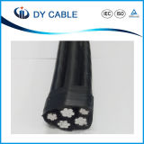 Niederspannung zusammengerolltes Luftkabel des ABC-Kabel-16mm2